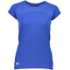 Mons Royale W's Bella Tech Geo T-Shirt Blue Dot
